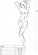 Sexy overal, tabuľka veľkostí
