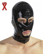 LateX maska se třemi otvory.
