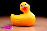 Vibračné kačička Duckie