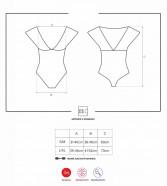 Obsessive body Lacy Flower – tabulka velikostí