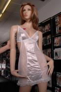Košilka Vilma s holými zády, bílá