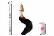 Anální kolík Cat Tail – plechovka