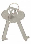 Kvalitní pouta na ruce s plyšem - klíčky