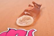 ERCO žartovný kondóm - fotenie v predajni Ružový Slon Havířov