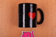 Žartovný hrnček I Love Sex - fotenie v predajni Ružový Slon Havířov