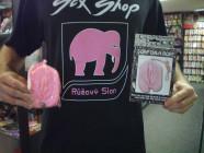 Žart. ružové mydlo - vagína