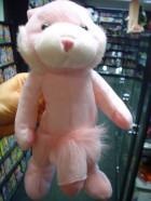 Plyšový ružový zajac s penisom