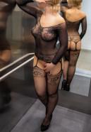 Podvazkový overal Sexy Sleeve