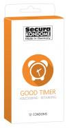 Secura Good Timer - Tlmivé kondómy (12 kusov)