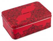 Secura Transparent Red Box - Klasické kondómy v boxe (50 ks)