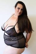 Plus size Obsessive body Valentina – testerka Denča