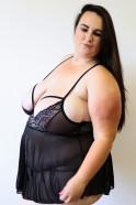 Plus size Obsessive košilka Valentina – testerka Denča