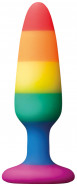 Anální kolík s přísavkou Rainbow Euphoria