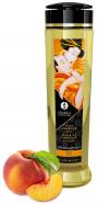 Shunga Stimulation masážní olej broskev (240 ml)
