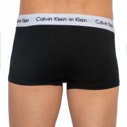 3PACK pánské boxerky Calvin Klein, černé