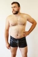 Černé boxerky Hardin – tester Honza