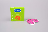 Durex Arouser - vrúbkované kondómy (3 ks)