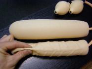 Dildo nafukovacie 25 × 3-6 cm
