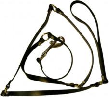 Kožené vodidlo Tie (118 cm)