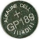 Baterie LR54 GP189 1,5 V