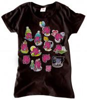 Dámské tričko 13 slonů