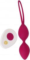 Vibračné venušine guľôčky na diaľkové ovládanie Love Balls + darček vrecúško Toybag