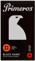 Primeros Black Hawk – čierne kondómy (12 ks)