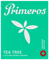 Primeros Tea Tree – tenké kondomy (3 ks)