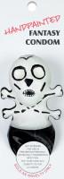 ERCO Skull žertovný kondom