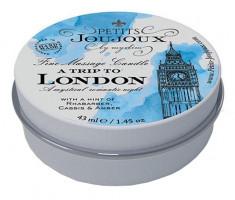 Masážní svíčka Temptation in London