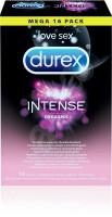 Durex Intense Orgasmic – vroubkované kondomy (16 ks)