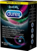 Durex Mutual Pleasure – vroubkované kondomy (16 ks)