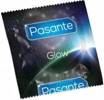 Pasante Glow – svítící kondom (1 ks)