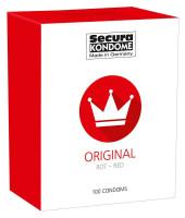 Secura Red – ochutené kondómy (100 ks)