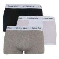 3PACK pánské boxerky Calvin Klein, vícebarevné