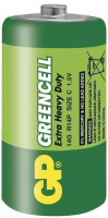 Baterie GP GreenCell R14 typ C