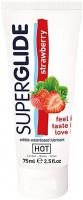 SUPERGLIDE jahodový lubrikační gel Strawberry (75 ml)