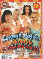DVD Sladké týnky, anál a dvojitá nálož