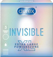 Durex Invisible – XL kondomy (3 ks)