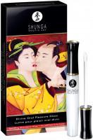 Shunga stimulační jahodový lesk na rty – Sparkling Wine (10 ml)