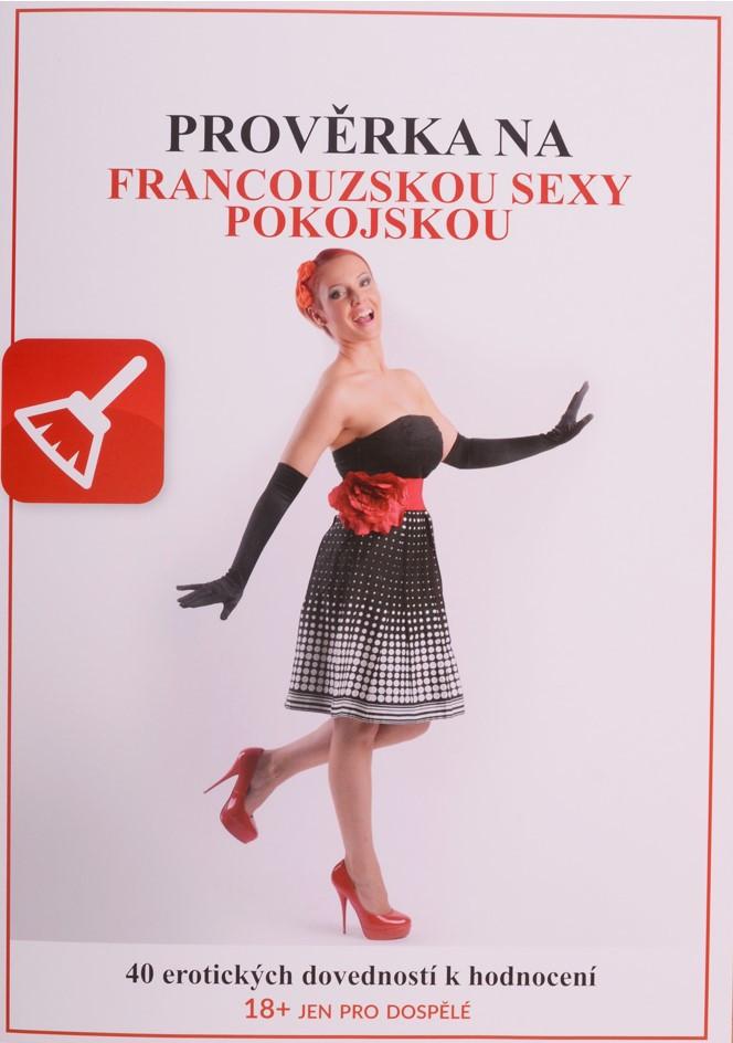 Prověrka na sexy francouzskou pokojskou – erotická hra