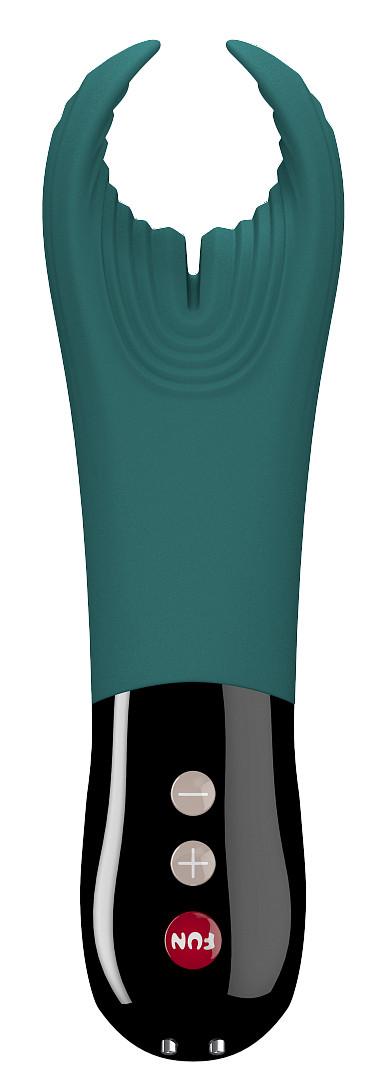 Fun Factory Manta párový vibrátor, modrý + dárek pytlík Toybag